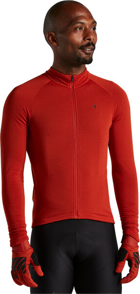 Specialized Prime Series Thermal Jersey LS Color: Redwood