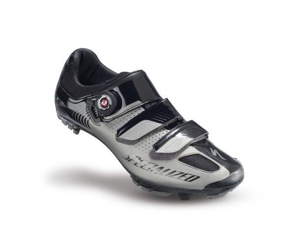 Specialized Pro XC MTB Shoes Color: Titanium/Black