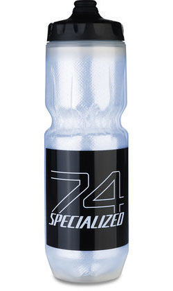 Specialized Purist Insulated Fixy Water Bottle Color: Translucent/Black