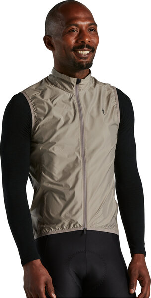 Specialized Race Series Wind Gilet Color: Taupe