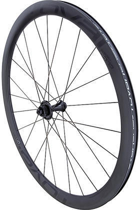 Roval CL 40 Disc Wheel Color: Satin Carbon/Gloss Black