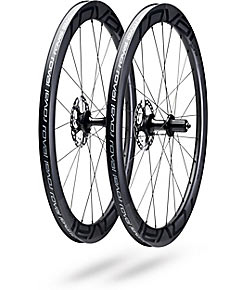 Roval CL 50 Disc Wheelset Color: Satin Carbon/Black