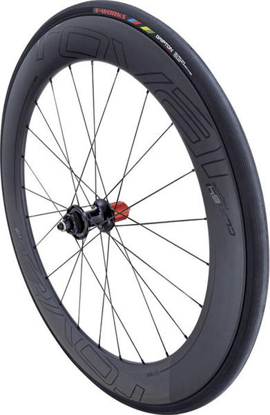 Roval CLX 64 Disc SCS System Rear Wheel Color: Satin Carbon/Gloss Black