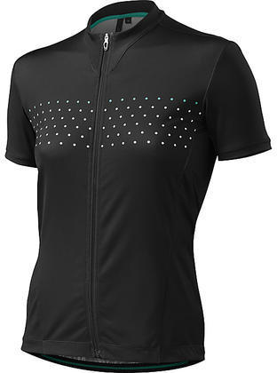 Specialized Women's RBX Comp Jersey Color: Black/Emerald Green