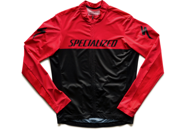 Specialized RBX Long Sleeve Jersey Color: Black/Red Team
