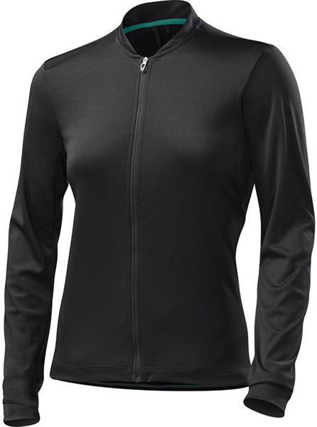 Specialized Women's RBX Sport Long Sleeve Jersey Color: Black