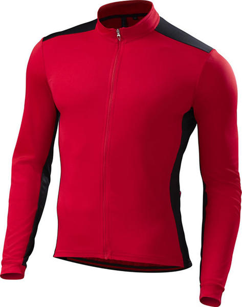 Specialized RBX Sport Long Sleeve Jersey Color: Red/Black