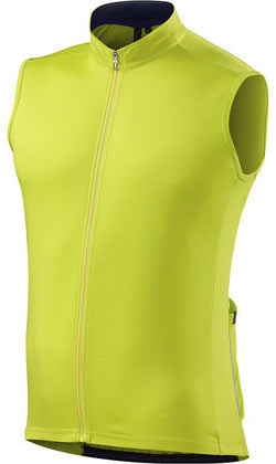 Specialized RBX Sport Sleeveless Jersey Color: Limon/Navy
