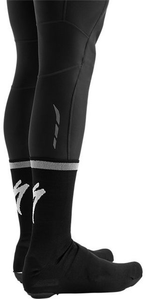 Specialized Reflect Overshoe Socks Color: Black
