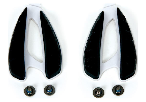 Specialized Replacement Road Shoe Heel Lug Color: Black/White