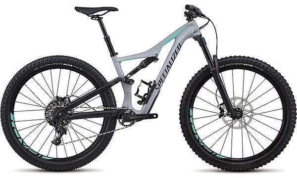 Specialized Rhyme Comp Carbon 6Fattie/29 Color: Satin Gloss Cool Gray/Cali Fade/Black