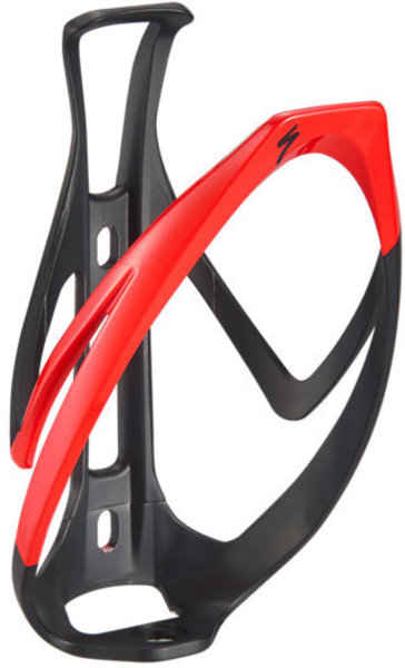 Specialized Rib Cage II Color: Matte Black/Flo Red