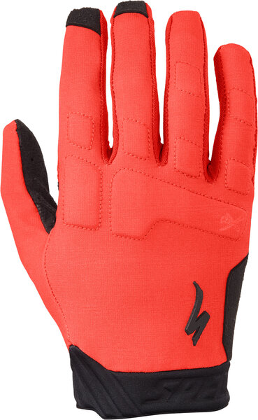 Specialized Ridge Long Finger Gloves Color: Flo Red