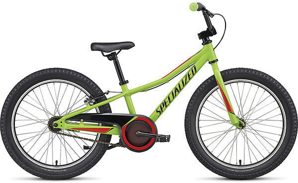 Specialized Riprock 20 Coaster Color: Gloss Monster Green/Nordic Red/Black