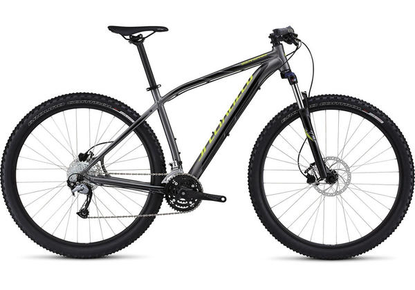 Specialized Rockhopper 29 Color: Gloss Charcoal/Black/Hyper