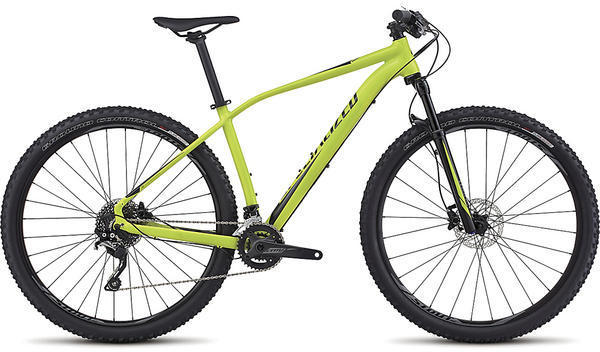 Specialized Rockhopper Expert 29 Color: Gloss Hyper Green/Black