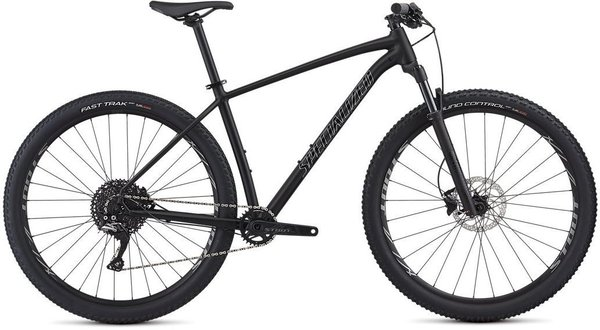 Specialized Men's Rockhopper Pro 1X Color: Satin Gloss Black/Chrome