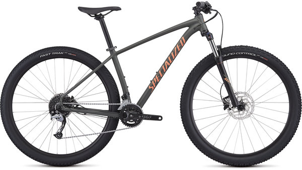 Specialized Women's Rockhopper Comp Color: Satin Oak/Acid Lava/Clean