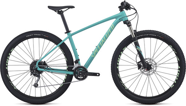 Specialized Women's Rockhopper Expert Color: Gloss Acid Mint/Acid Kiwi/Clean