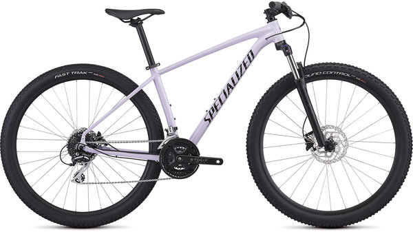 Specialized Women's Rockhopper Sport Color: Gloss UV Lilac/Tarmac Black/Clean