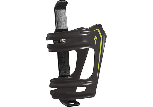 Specialized S-Works Roll Cage Color: Black/Hyper Green