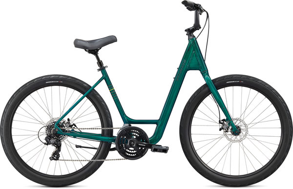 Specialized Roll Sport Low Entry Color: Teal Tint/Hyper Green/Satin Black