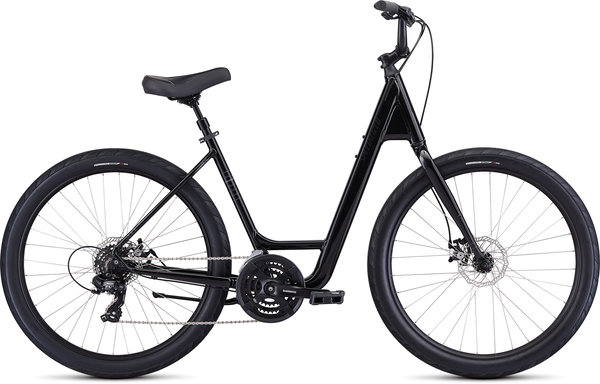 Specialized Roll Sport - Low Entry Color: Gloss Black/Black/Black