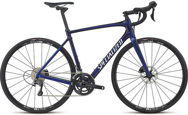 Specialized Roubaix Comp Color: Gloss AC Blue/Tarmac Black Edge Fade/Clean