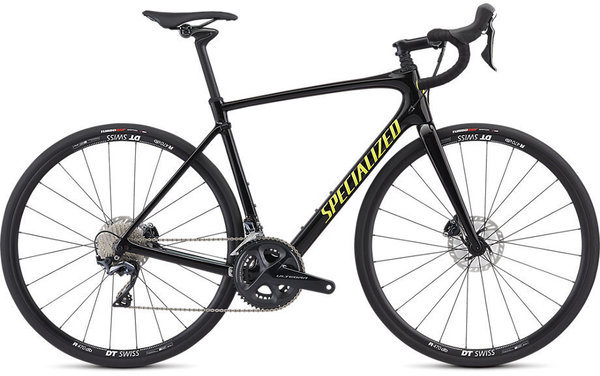Specialized Roubaix Comp Color: Gloss Tarmac Black/Green/Team Yellow/Clean