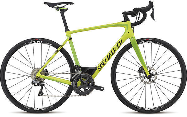 Specialized Roubaix Expert UDi2 Color: Neon Yellow/Monster Green