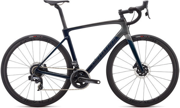 Specialized Roubaix Pro - SRAM Force eTap AXS Color: Gloss Teal Tint/Charcoal