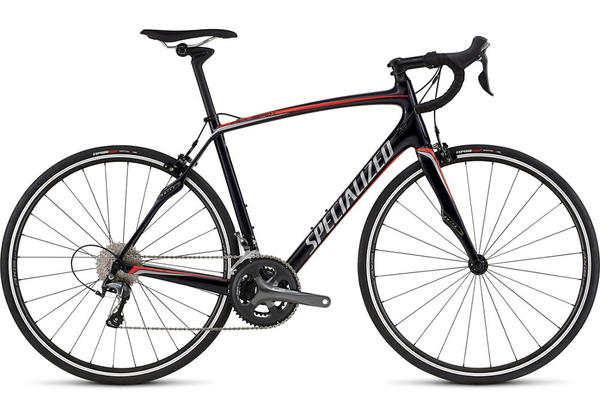 Specialized Roubaix SL4 Color: Gloss Blue Tint/Red/Silver