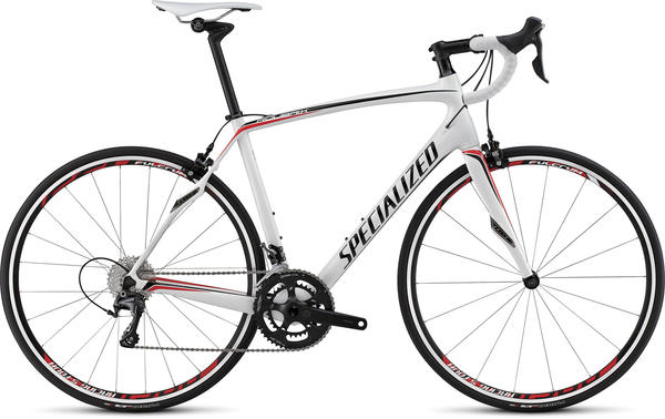Specialized Roubaix SL4 Comp Color: Gloss White/Black/Red