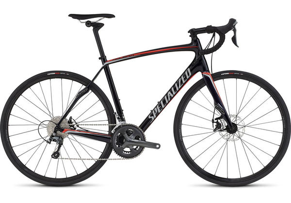 Specialized Roubaix SL4 Disc Color: Gloss Blue Tint/Rocket Red/Silver