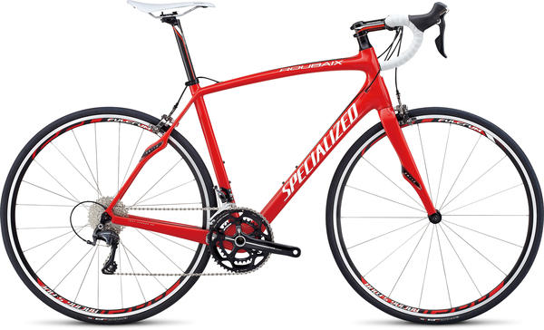 Specialized Roubaix SL4 Comp Compact Color: Red/Black/White