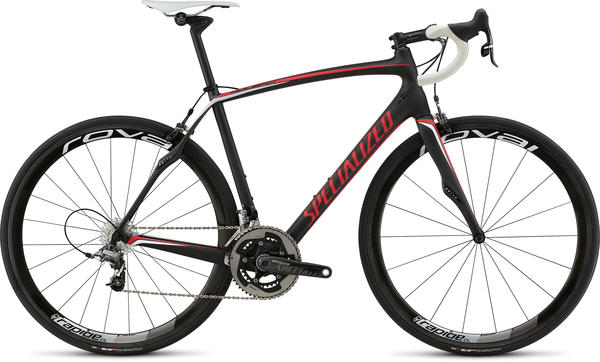 Specialized Roubaix SL4 Pro Race Color: Satin Black/Red/White