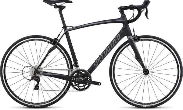 Specialized Roubaix SL4 Double Color: Satin Carbon/Charcoal