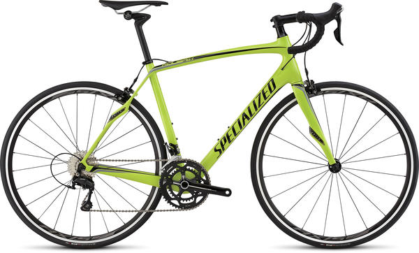 Specialized Roubaix SL4 Sport Color: Gloss Hyper/Black/Charcoal