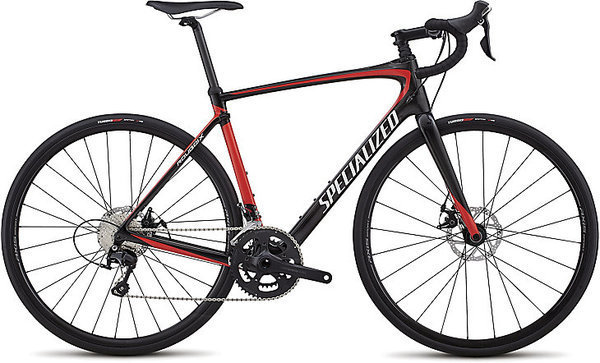 Specialized Roubaix Sport Color: Gloss Carbon/Nordic Red/Metallic White