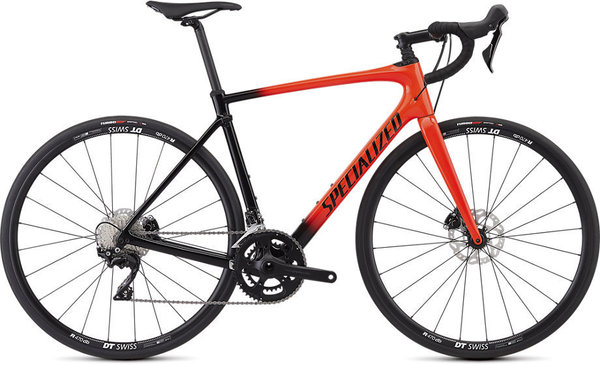 Specialized Roubaix Sport Color: Gloss Rocket Red/Black Fade/Rocket Red/Clean