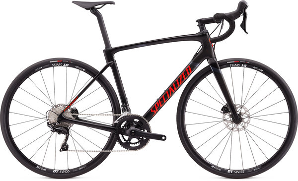 Specialized Roubaix Sport (9/8) Color: Gloss Carbon/Rocket Red