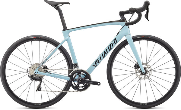 Specialized Roubaix Sport Color: Gloss Ice Blue/Carbon/Tarmac Black