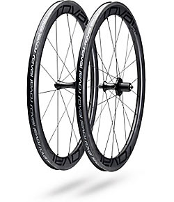 Roval Rapide CL 50 Wheelset Color: Satin Carbon/Black