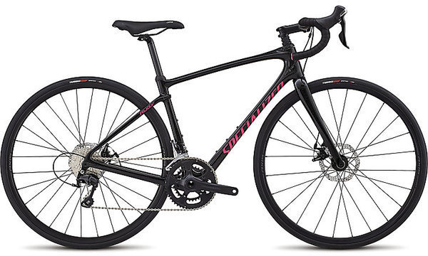 Specialized Ruby Sport Color: Gloss Cosmic Flake Black/Slate/Acid Pink