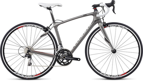 Specialized Ruby Sport - Women's Color: Titanium/White/Red