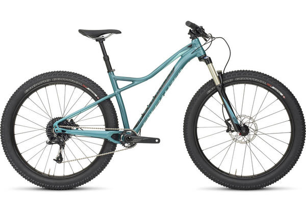 Specialized Ruze Comp 6Fattie - Women's Color: Gloss Pearl Turquoise/Black/Light Turquoise