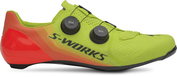 Specialized S-Works 7 Color: Hyper Green/Acid Lava LTD
