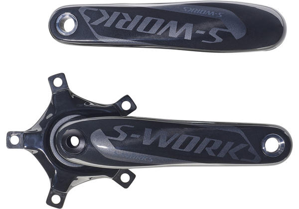 Specialized S-Works Carbon Road Crank Arms Color: Gloss Carbon