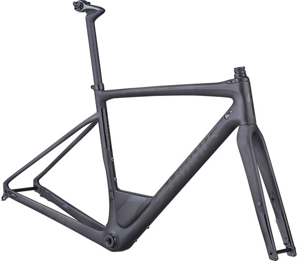 Specialized S-Works Diverge Frameset Color: Satin Carbon/Gloss Black