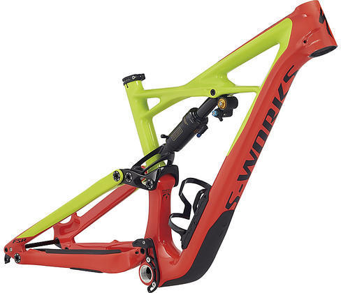 Specialized S-Works Enduro 650b Frameset Color: Gloss Nordic Red/Hyper/Black